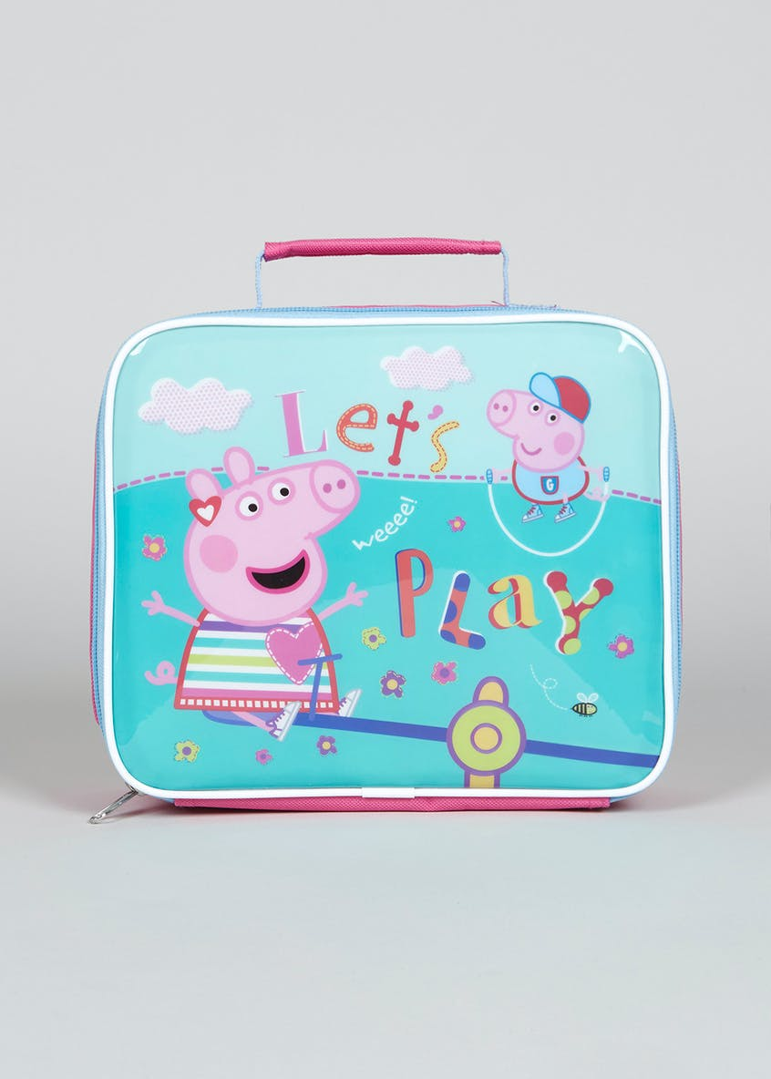 Kids Peppa Pig Lunch Bag (24cm x 21cm x 7cm)