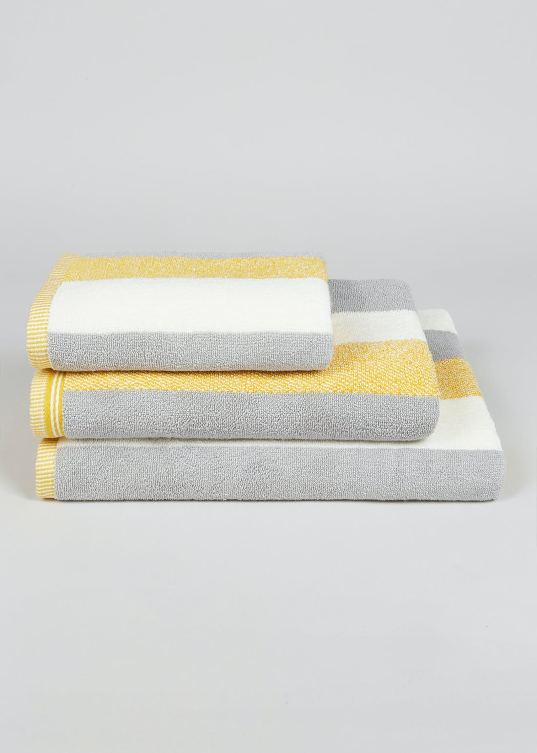 100% Turkish Cotton Stripe Towels