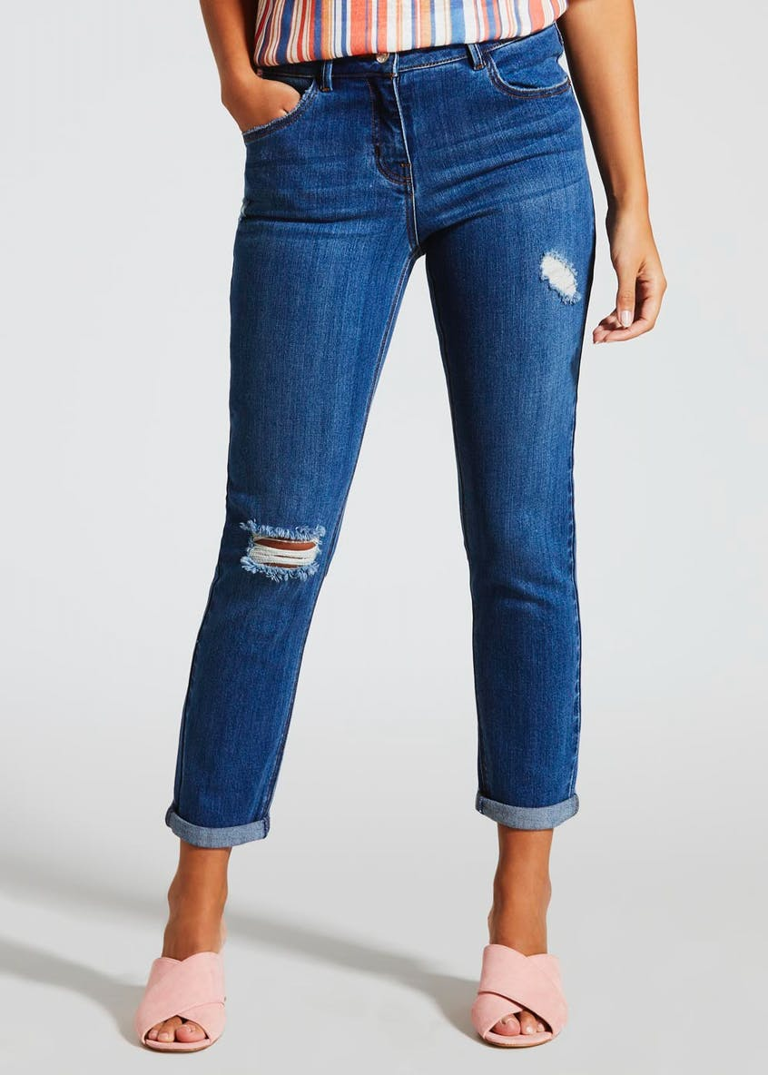 Riley Ripped Boyfriend Jeans