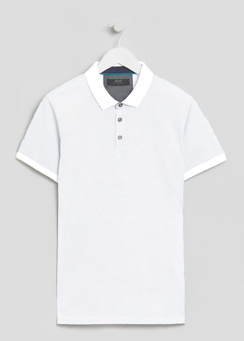 Printed Polo Shirt