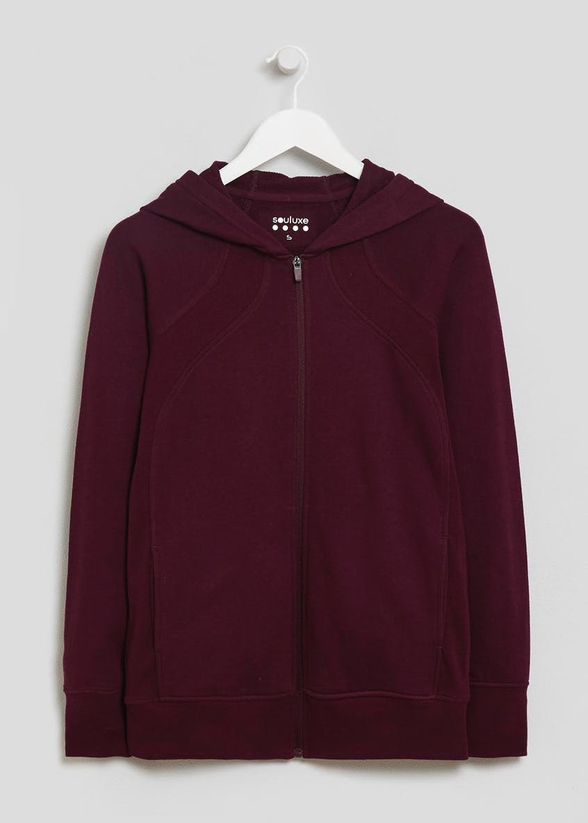 Souluxe Zip Through Sports Hoodie