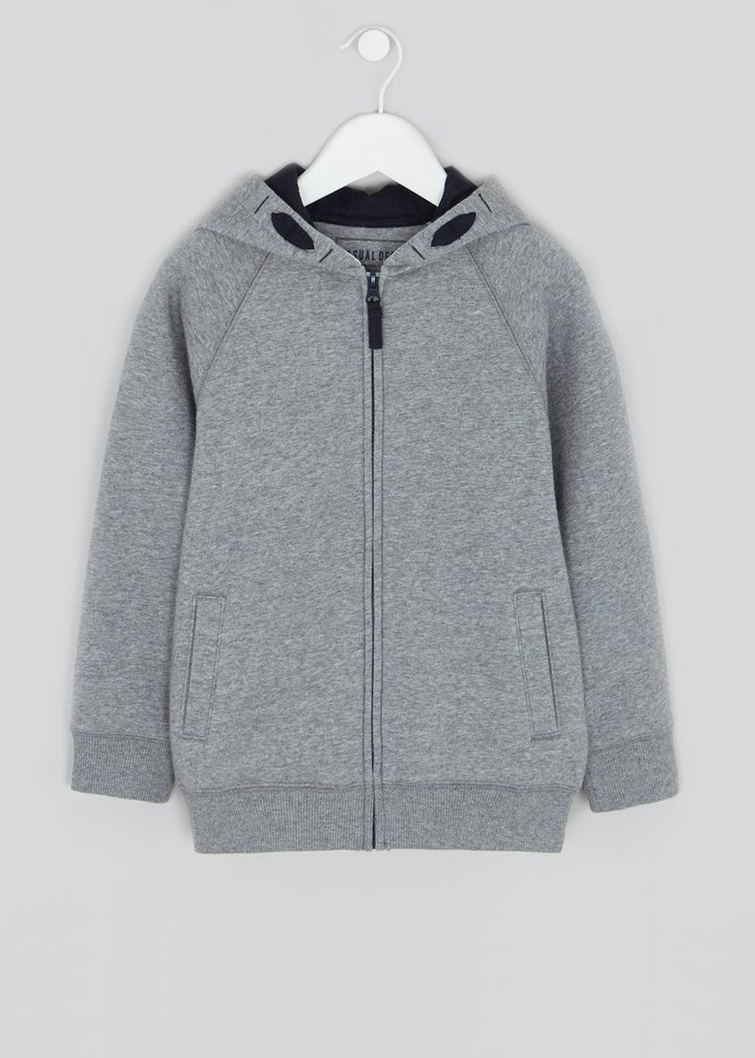 Boys Zip Through Hoodie (4-13yrs)