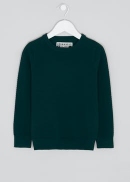 Boys Smart Crew Neck Jumper (4-13yrs)