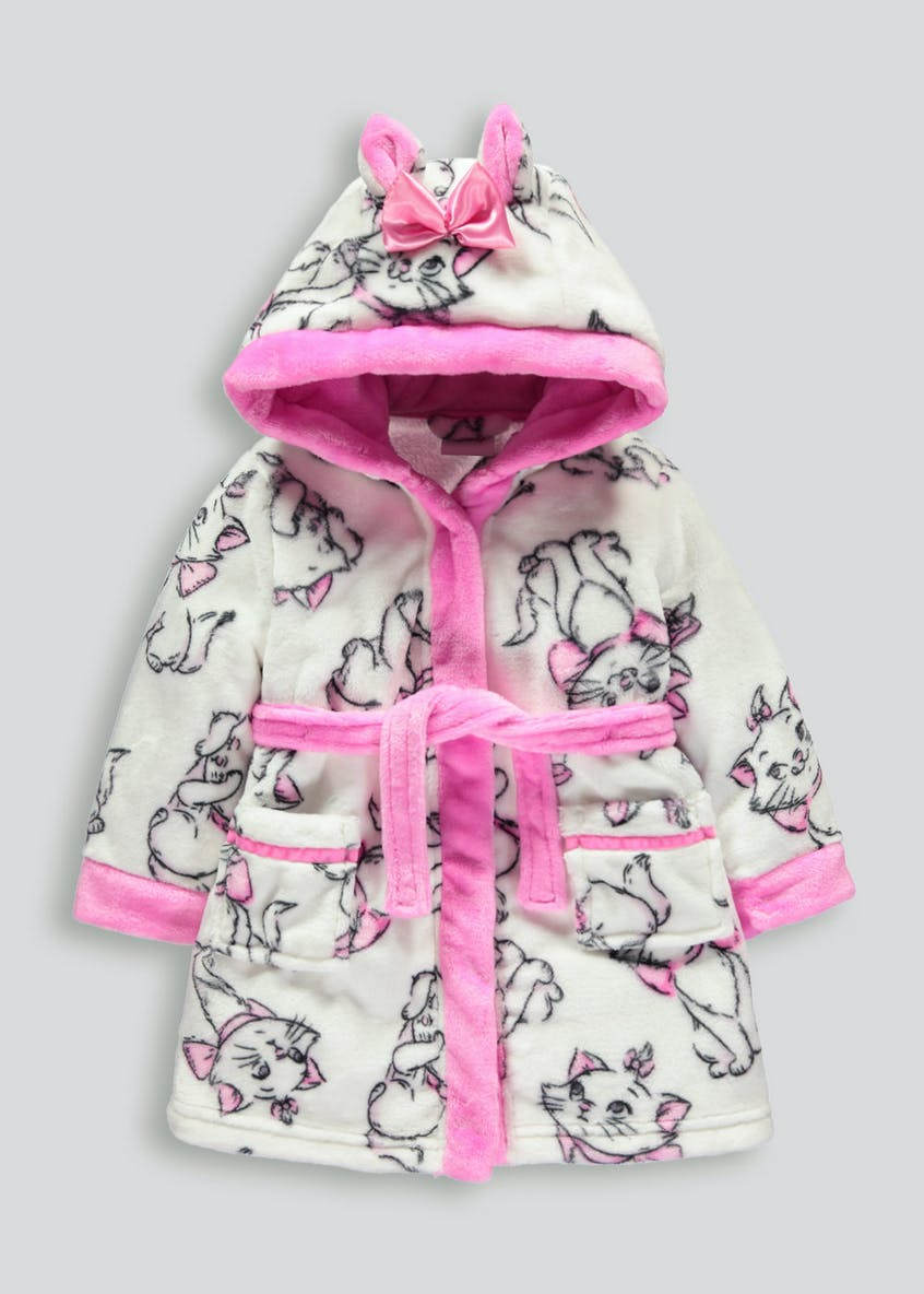 Kids Disney The Aristocats Marie Dressing Gown (3mths-6yrs)