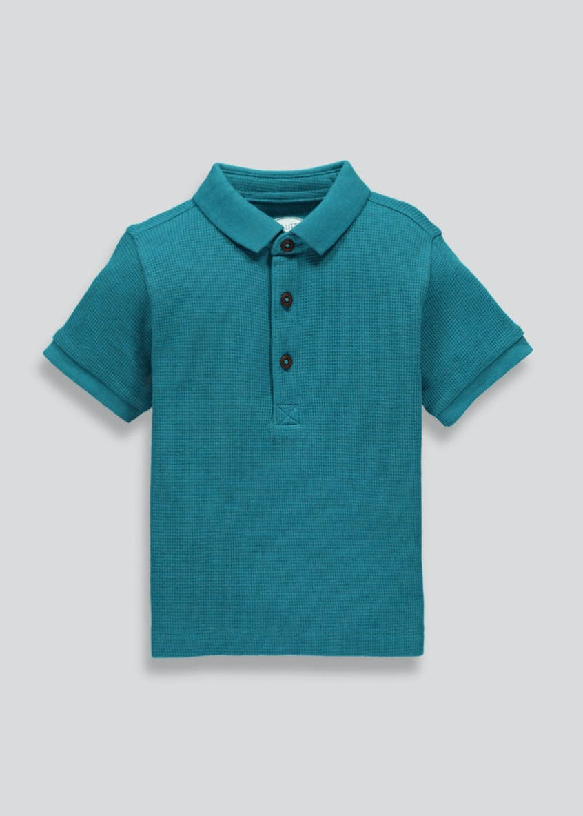 Boys Textured Polo Shirt (3mths-6yrs)