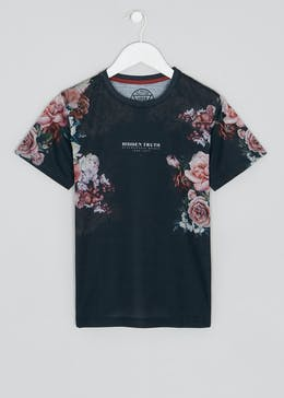 Boys Floral T-Shirt (9-16yrs)