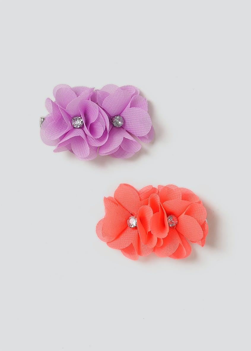 2 Pack Flower Clips
