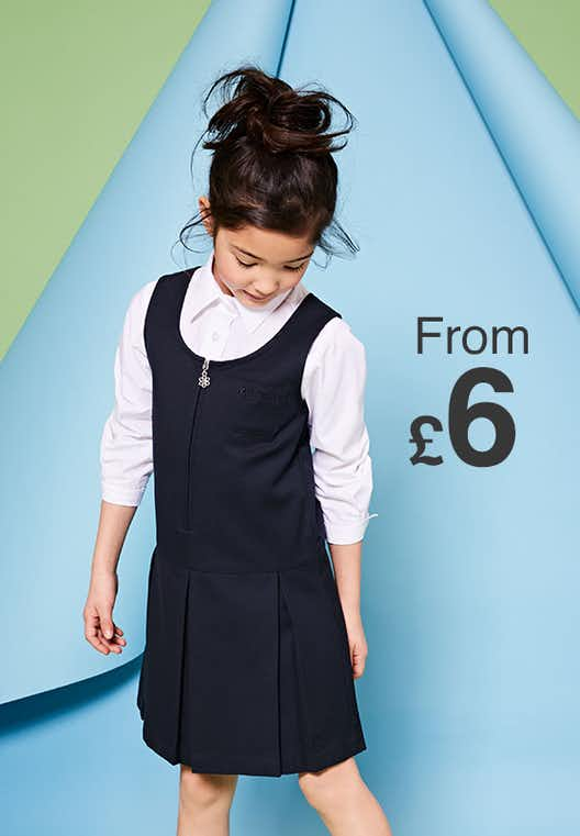 Girls school Pinafore