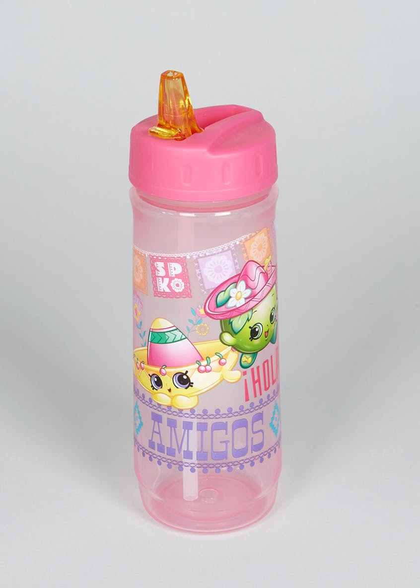 Kids Shopkins Cascade Water Bottle (20cm x 7cm)