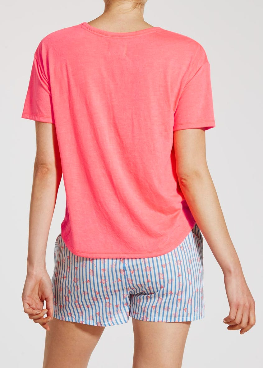 Mix & Match Sunset Slogan Pyjama Top
