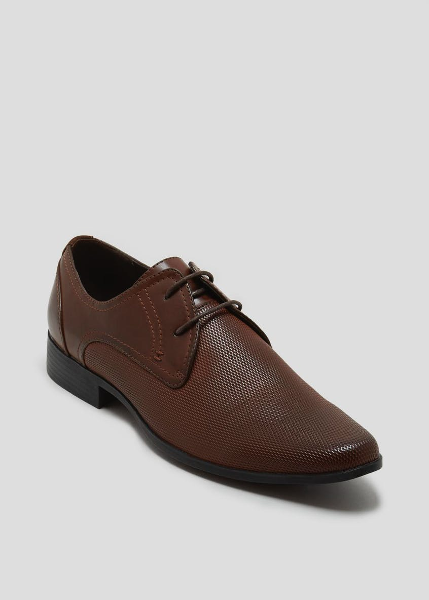Almond Toe Embossed Shoes