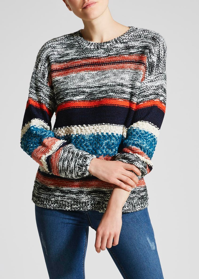 Stripe Textured Jumper