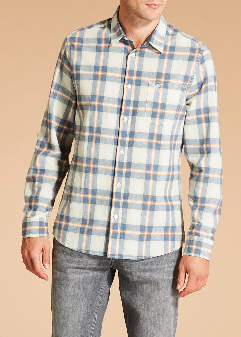 Morley Long Sleeve Check Shirt