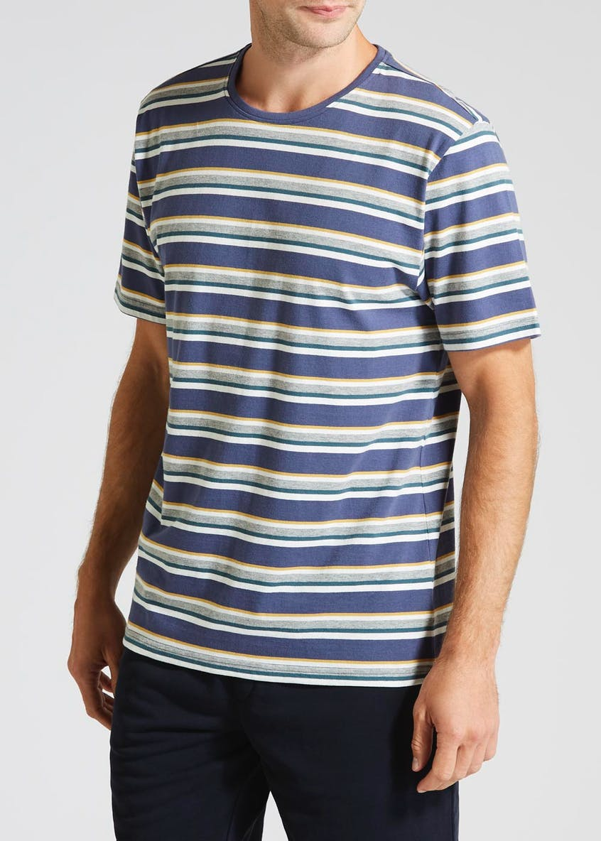 Stripe Loungewear T-Shirt