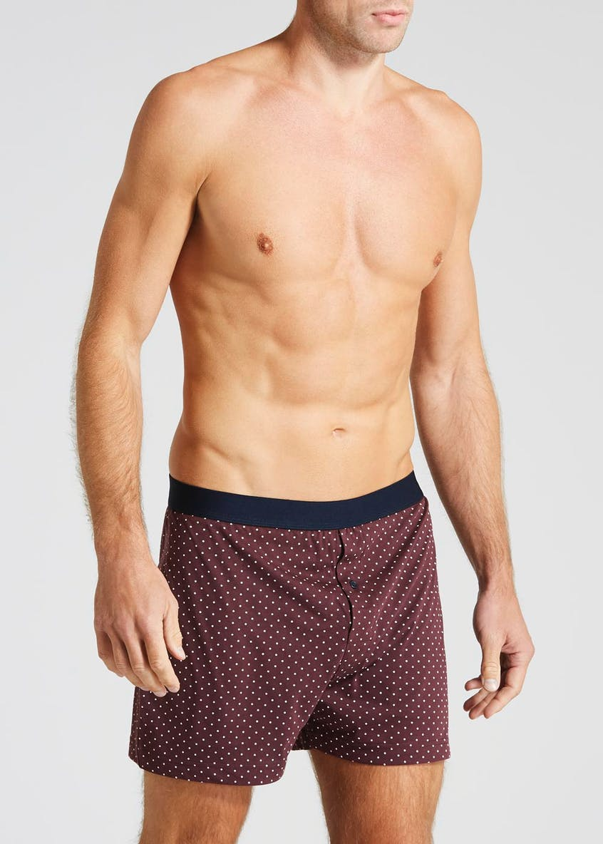 3 Pack Loose Fit Spot Print Boxers