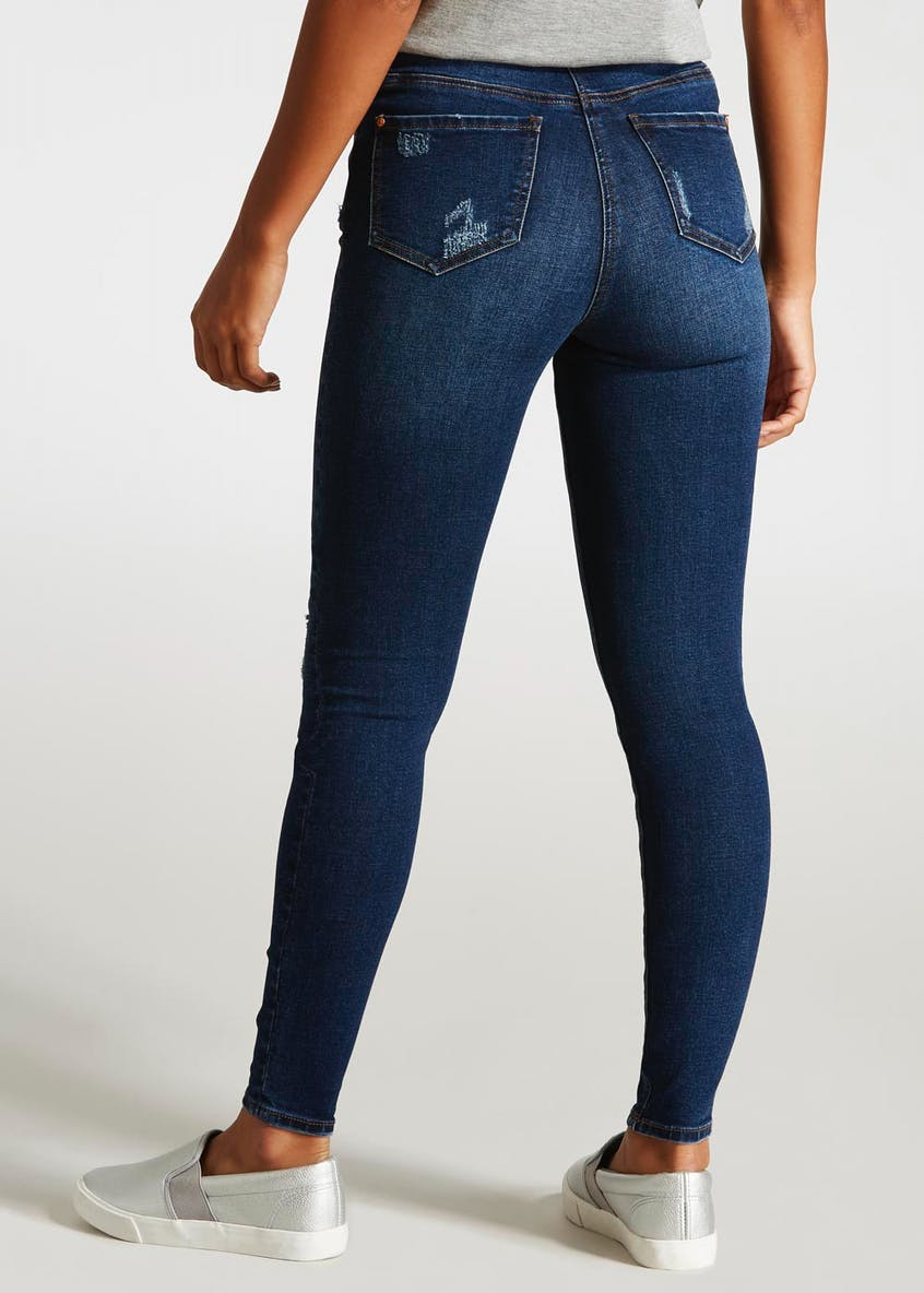April Rip & Repair Super Skinny Jeans