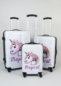 Unicorn 4 Wheel Suitcase