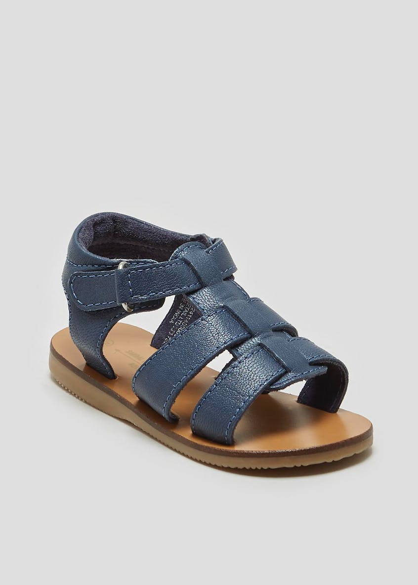 Unisex Real Leather Sandals (Younger 4-12)