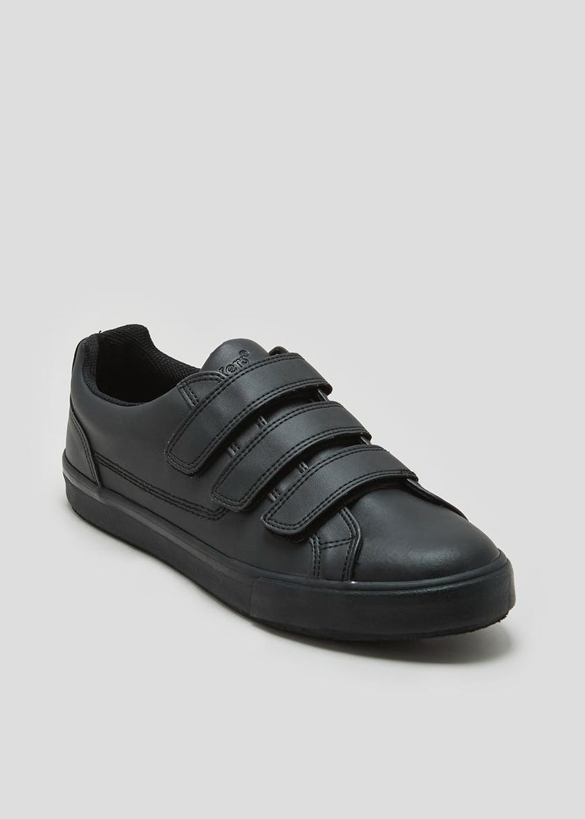 Kickers Tovni Riptape Leather Trainers