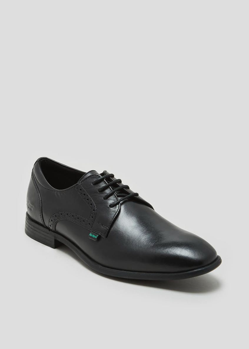 Kickers Jarle Leather School Shoes