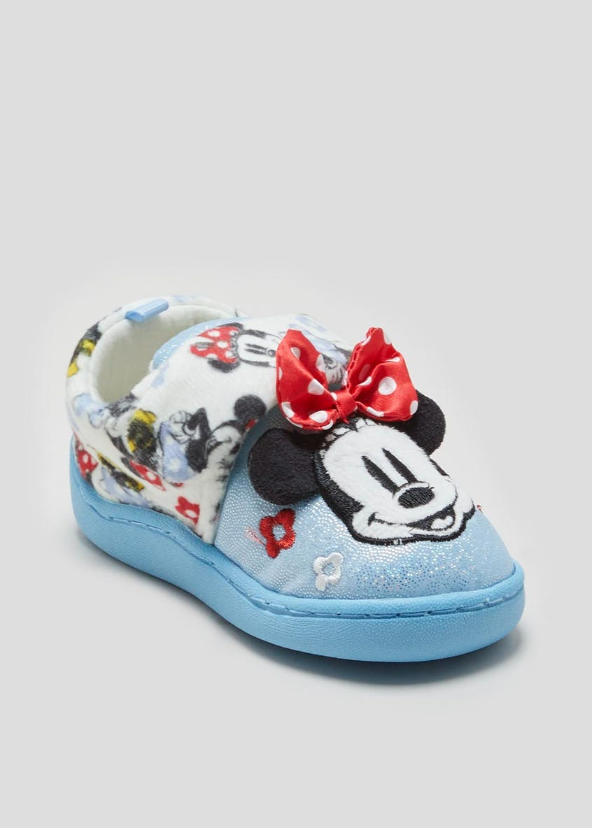 Kids Disney Minnie Mouse Slippers (Younger 4-9)