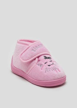 Kids Co-Ord Monster Slippers (Younger 4-12)