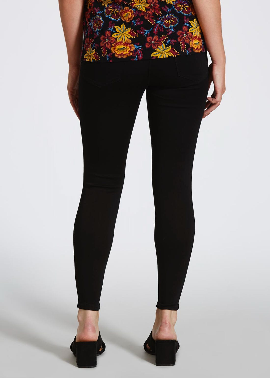Papaya Petite Jessie High Waisted Jeans