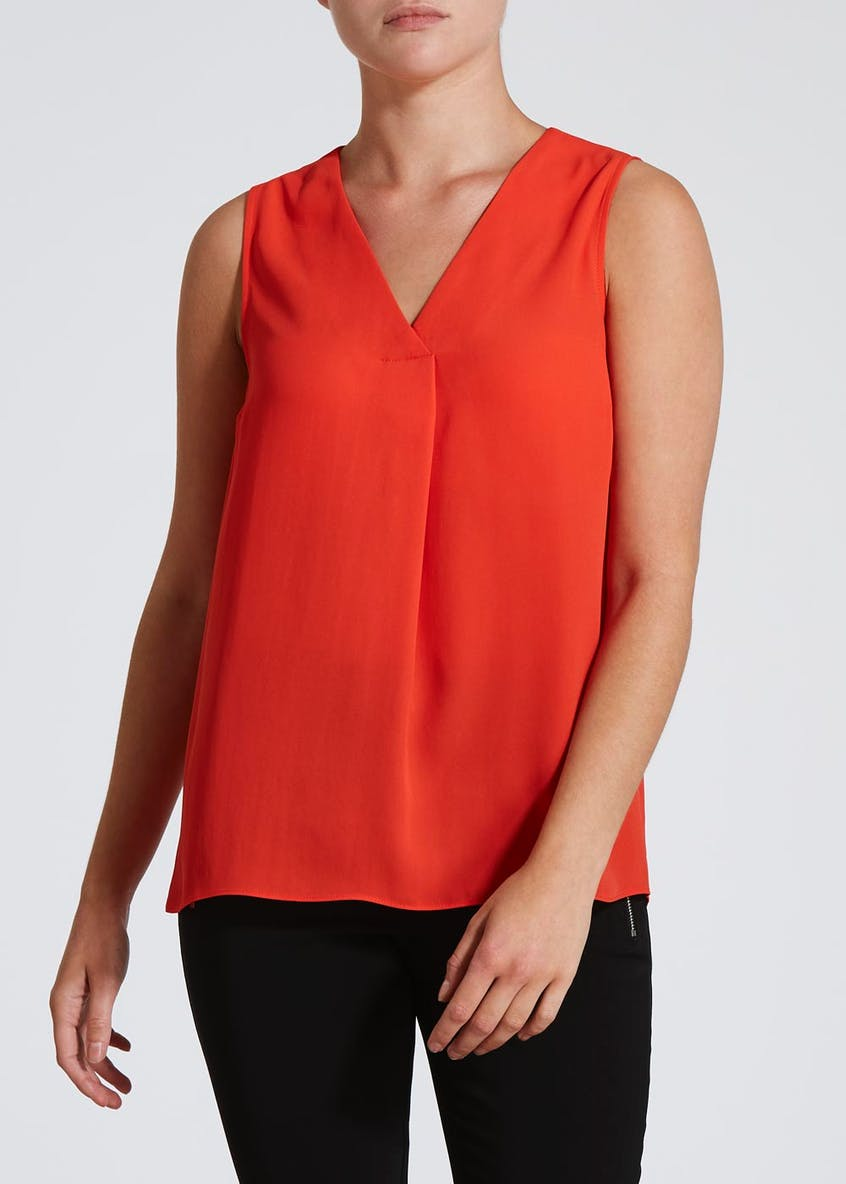 Papaya Petite Formal Vest Top
