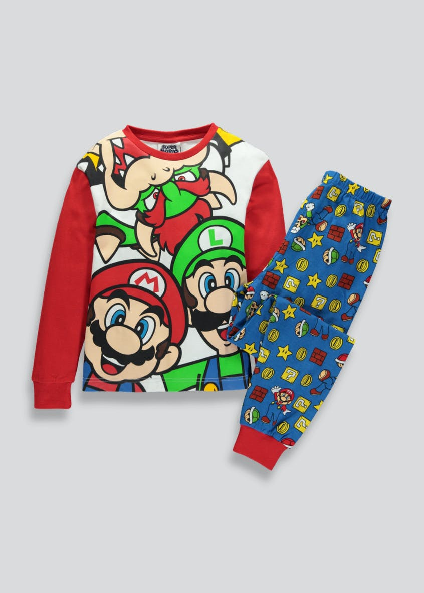 Kids Mario Kart Pyjama Set (4-12yrs)