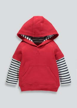Boys Double Layer Hoodie (6mths-6yrs)