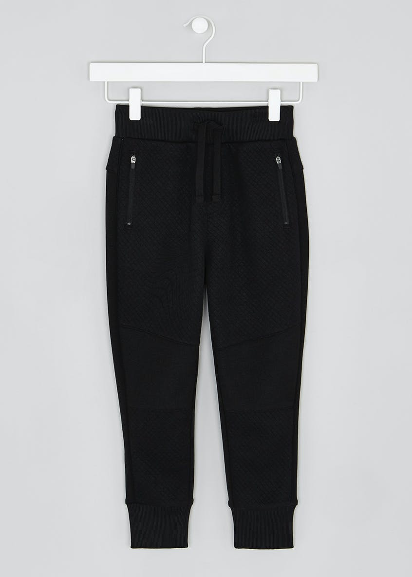 Boys Quilted Jogging Bottoms (4-13yrs)