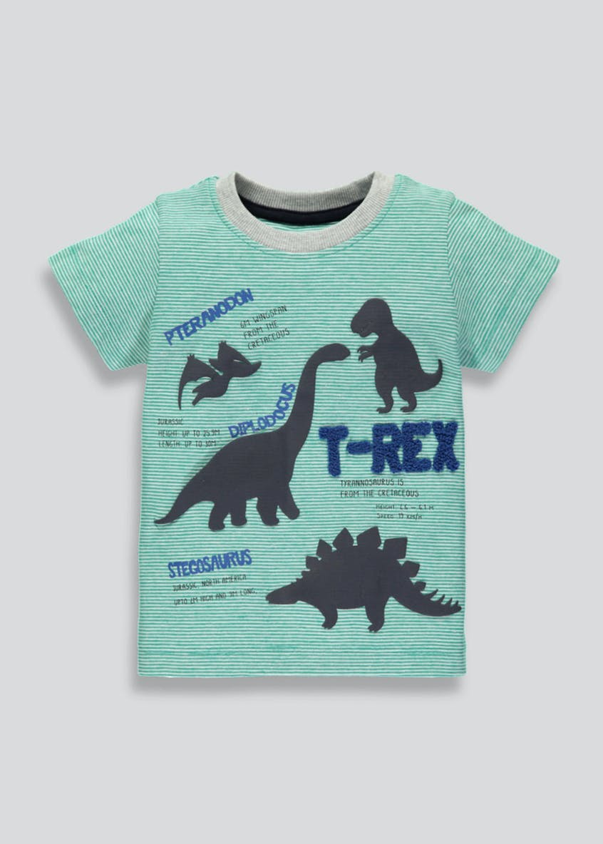 Kids Dinosaur Applique T-Shirt (3mths-5yrs)