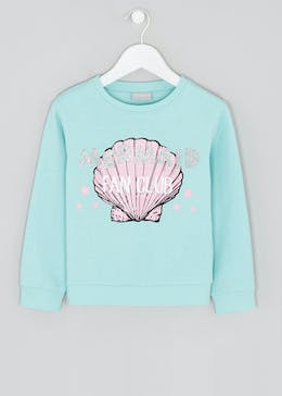 Girls Mermaid Sweatshirt (4-13yrs)