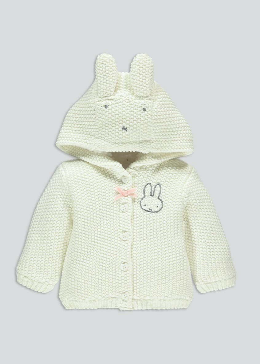 Kids Miffy Hooded Cardigan (Newborn-12mths)