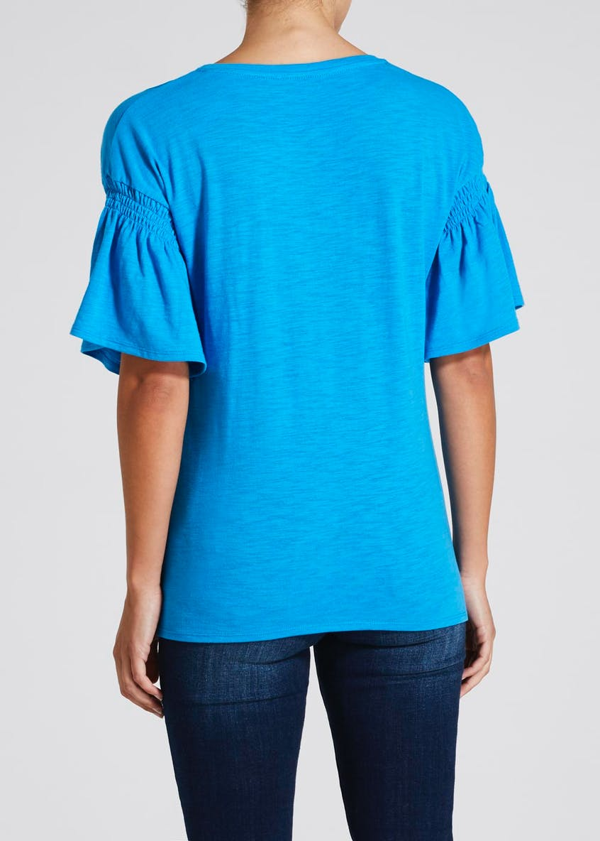 Smock Sleeve T-Shirt