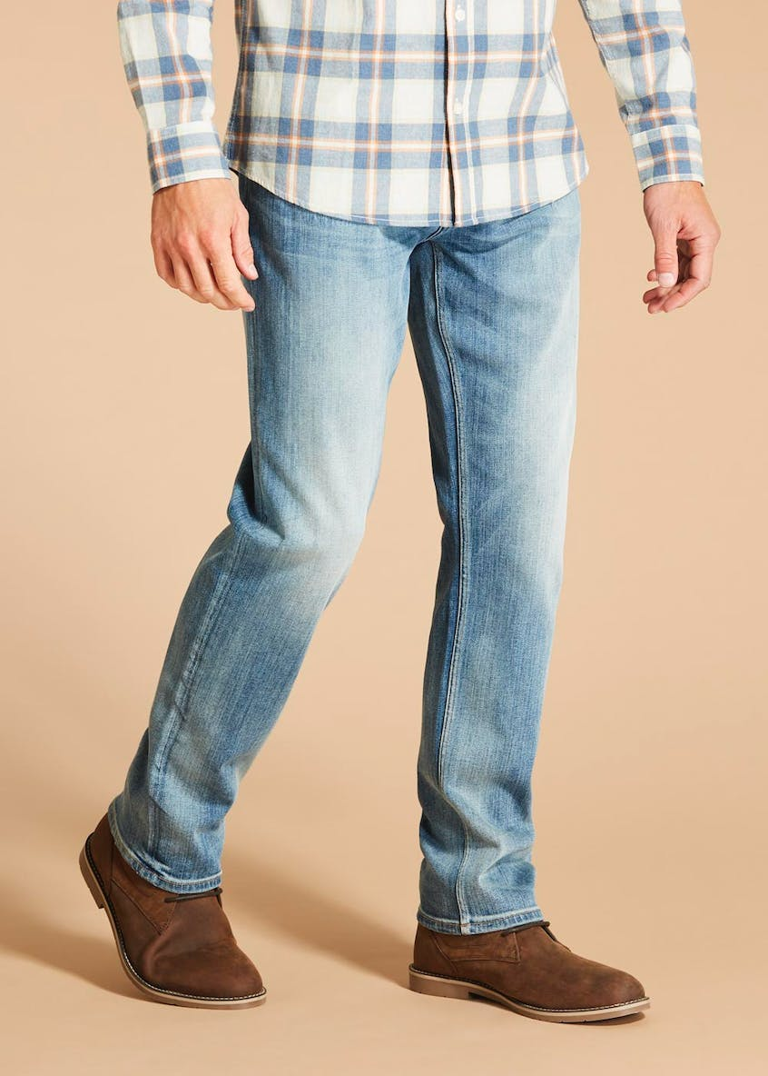 Morley Light Wash Denim Jeans