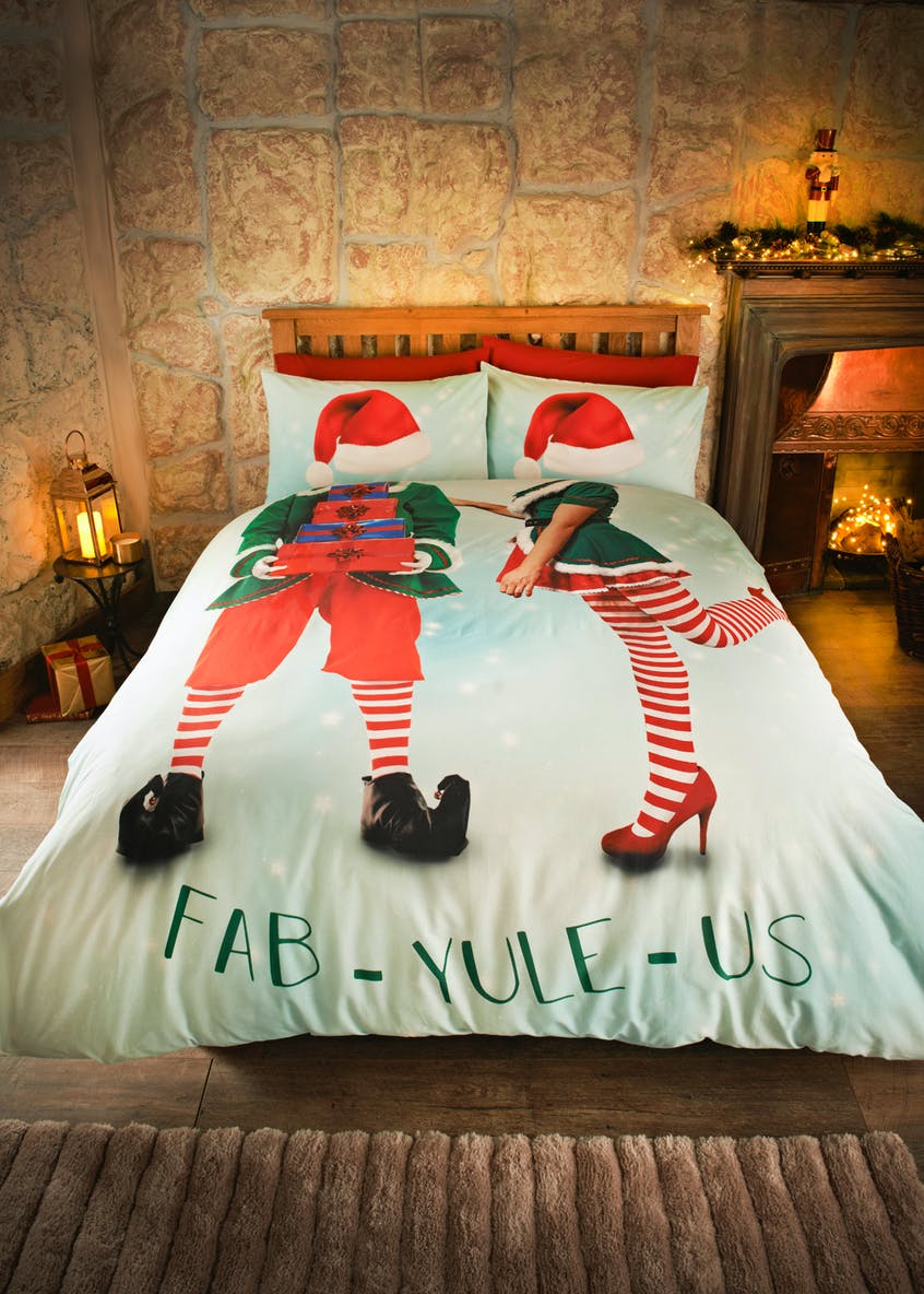 Fab-Yule-Us Christmas Bedding Set