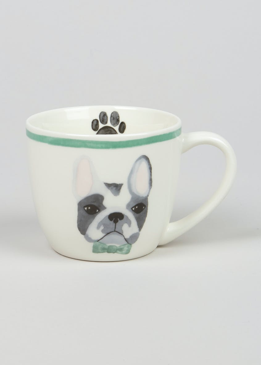 French Bulldog Print Mug (11cm x 9cm)