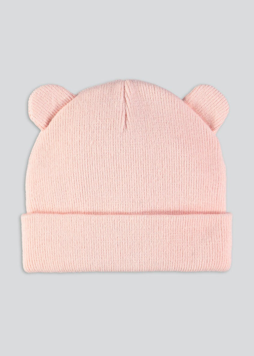Girls Cat Beanie Hat (Newborn-23mths)