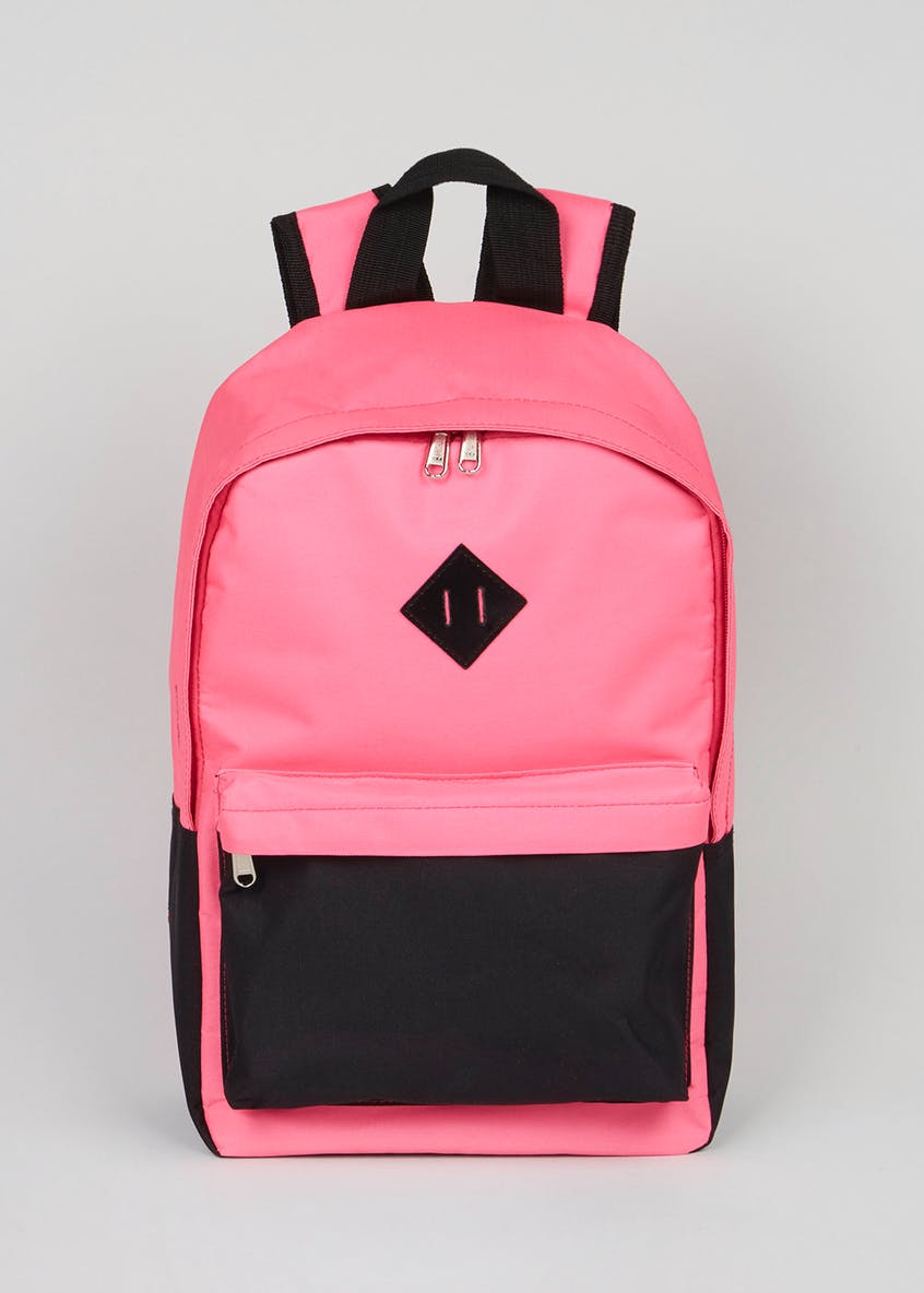 Kids Colour Block Backpack