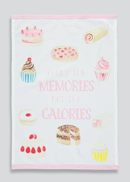 Baking Print Tea Towel (65cm x 45cm)