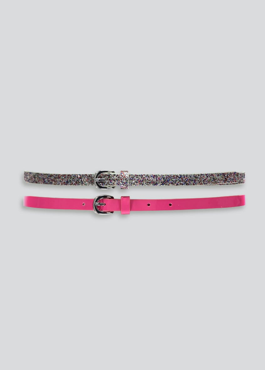 Girls 2 Pack Belts (3-13yrs)
