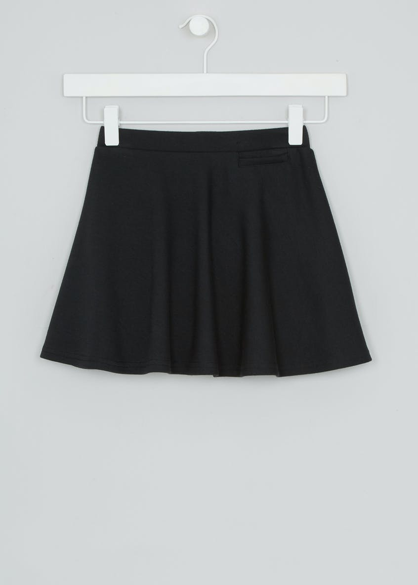 Girls Jersey Skater School Skirt (4-16yrs)