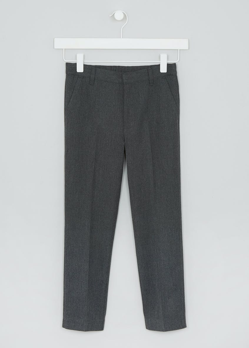 Boys Skinny Fit School Trousers (6-16yrs)