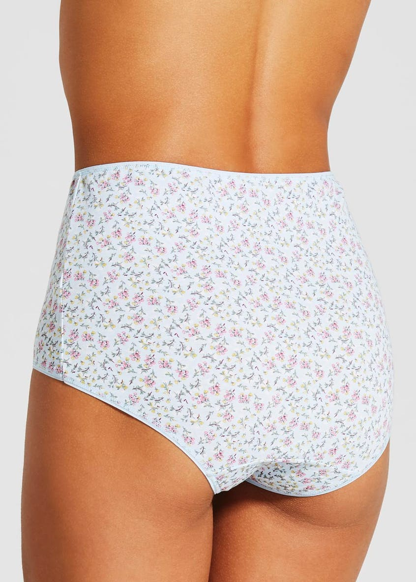5 Pack Print Full Knickers