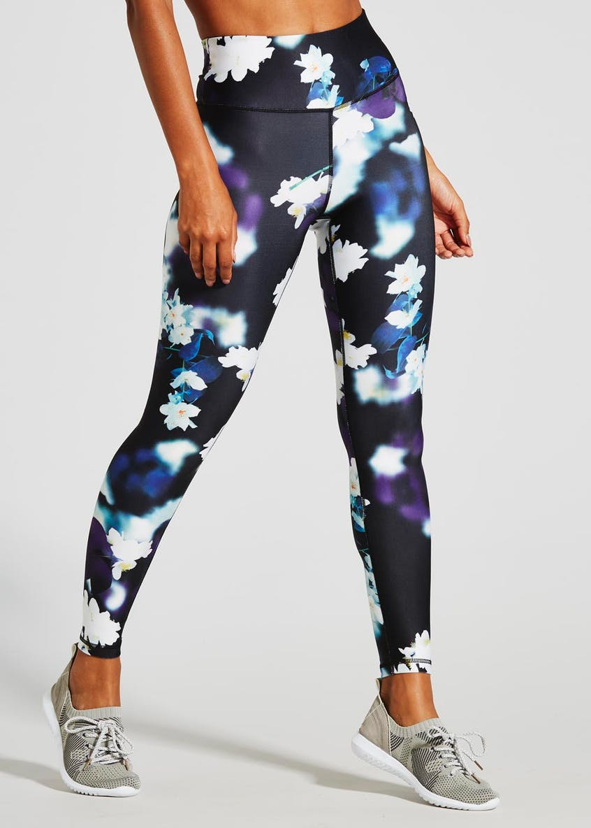 Souluxe Orchid Print Sports Leggings