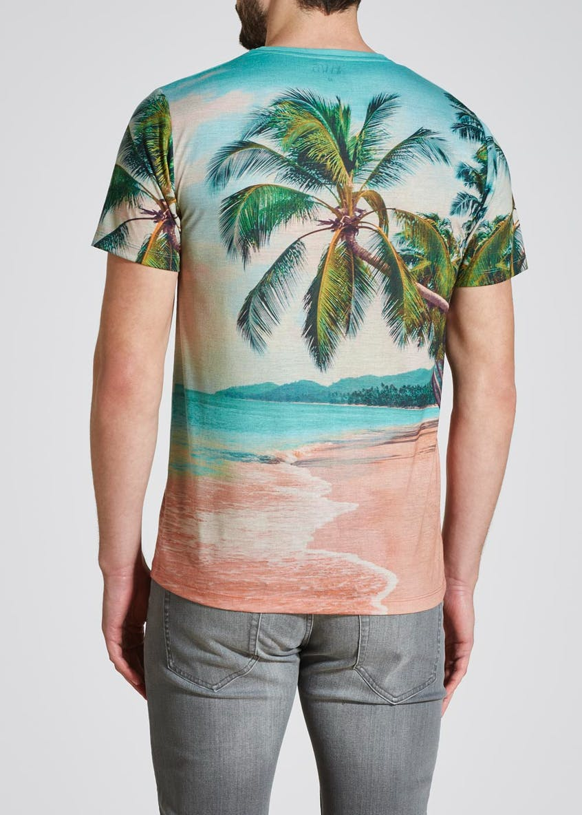 Hawaii Sublimation Print T-Shirt