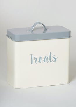 Pet Treat Tin (20cm x 18cm x 10cm)