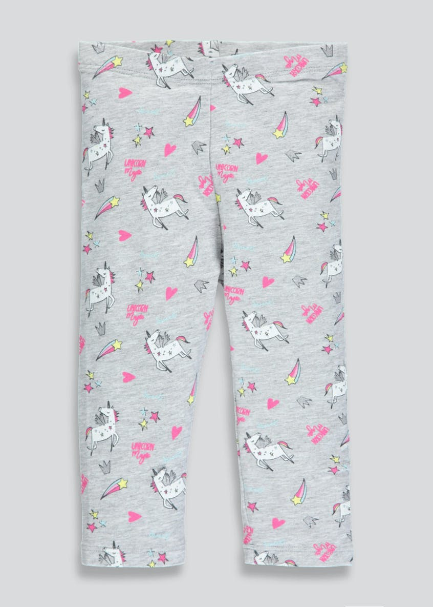 Girls Unicorn Leggings (3mths-6yrs)