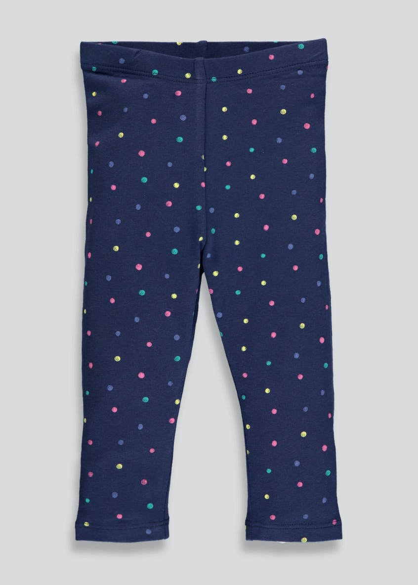 Girls Spot Leggings (3mths-6yrs)
